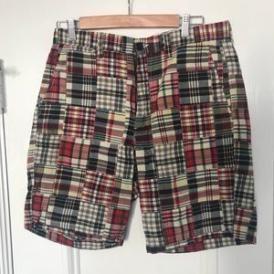 "🌟FINAL SALE🌟 J.Crew Factory Mens 9"" Madras Short"